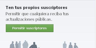 Facebook suscriptores