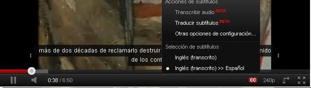 Subtitulo youtube 3