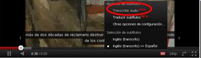 Subtitulo youtube 1