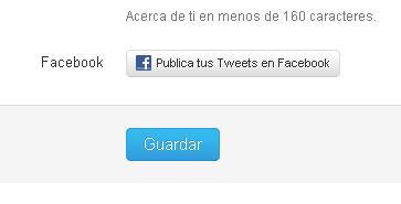 configurar twitter y facebook 2