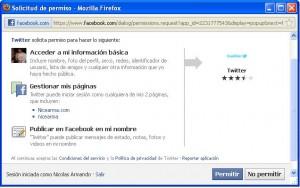 configurar facebook y twitter 3
