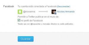 configurar twitter y facebook 4