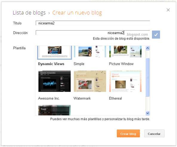 como crear un blog con blogger 15