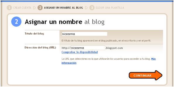 como crear un blog con blogger 7