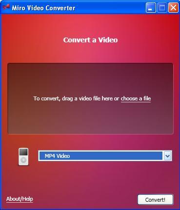 Miro Convertidor de video gratis 1