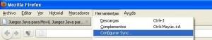 sincronizacion Firefox 1