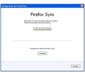 sincronizacion Firefox 2