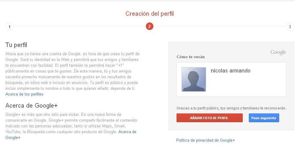 google+ obligado