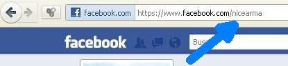 nombre de usuario facebook