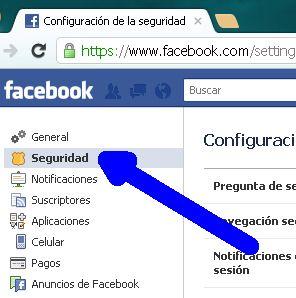 configuracion de cuenta facebook 2