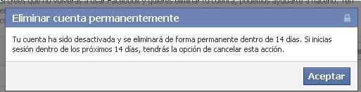 eliminar facebook 2