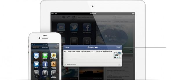 facebook integracion ios 6