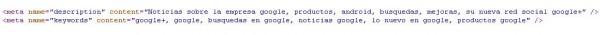 meta data wordpress categoria