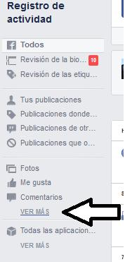 facebook historial busqueda 2